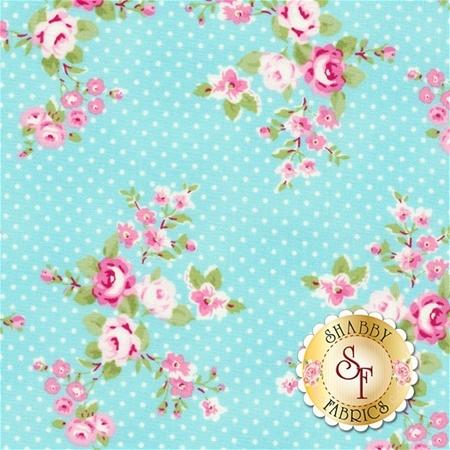 Charlotte PWTW147-BLUE by Tanya Whelan for Free Spirit Fabrics