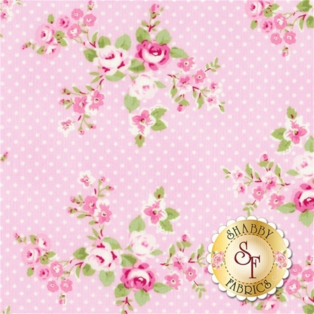Charlotte PWTW147-PINK by Tanya Whelan for Free Spirit Fabrics