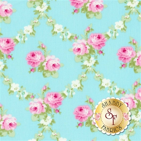 Charlotte PWTW148-BLUE by Tanya Whelan for Free Spirit Fabrics