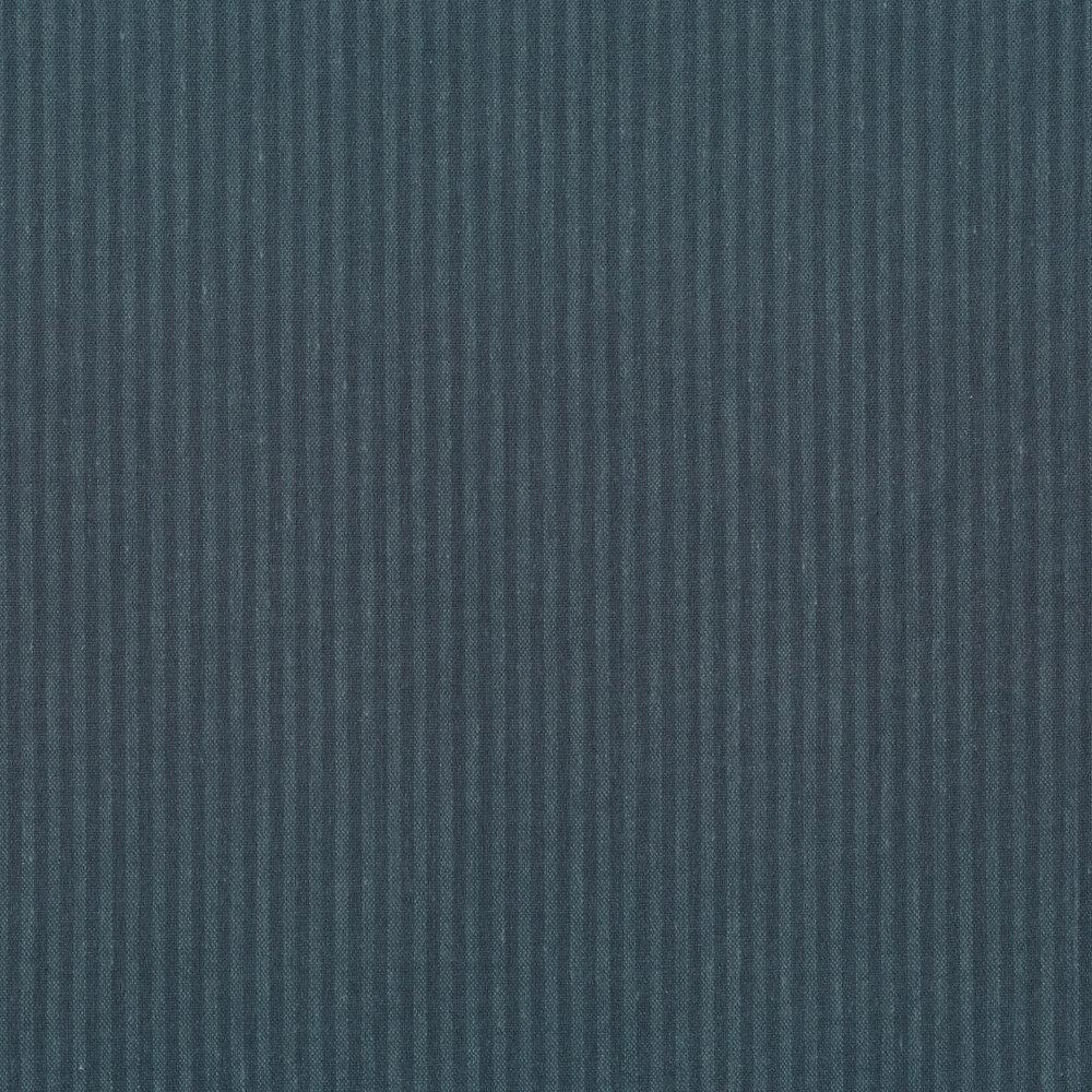 Tonal blue striped print