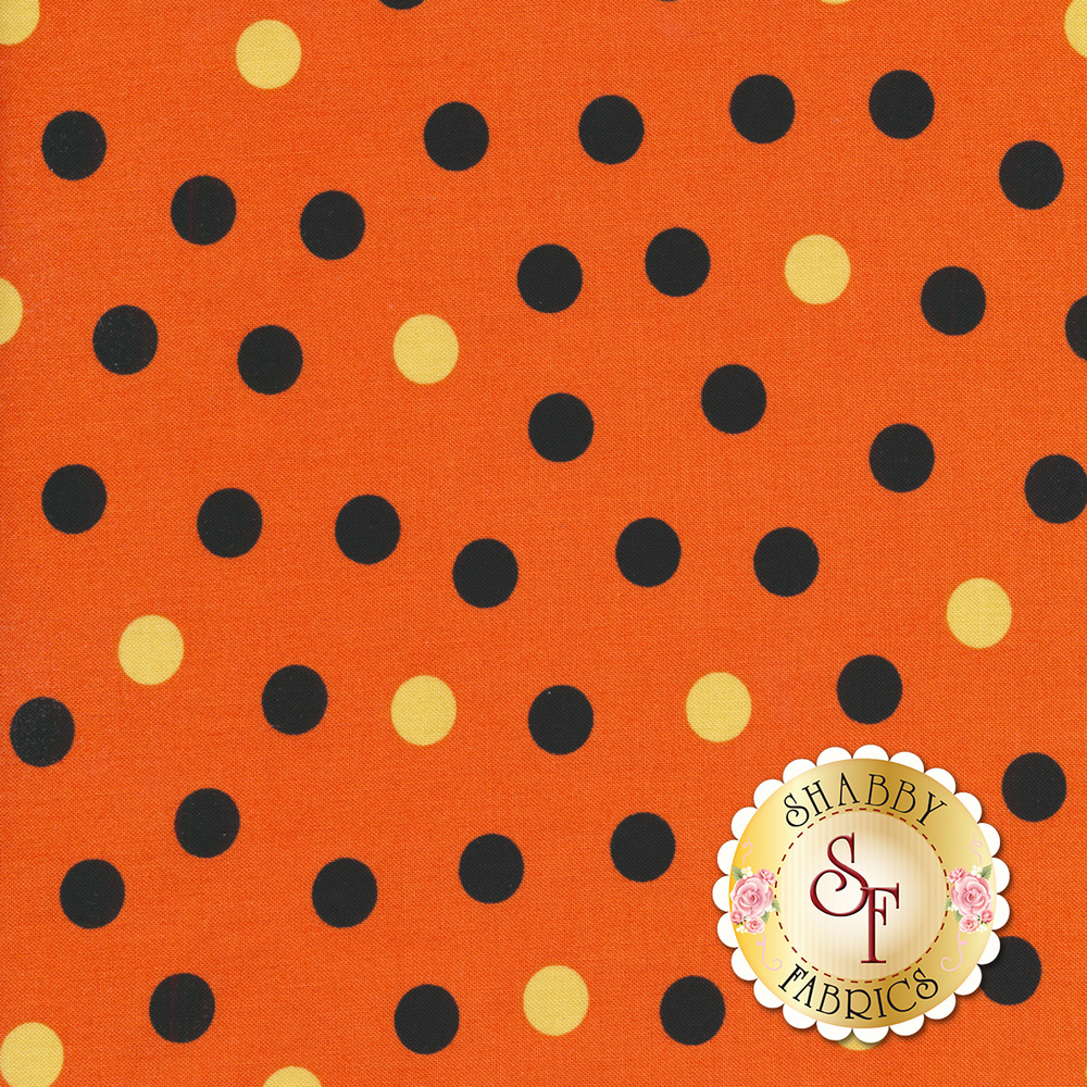 Cheekyville 4667-33 Orange by Studio E Fabrics