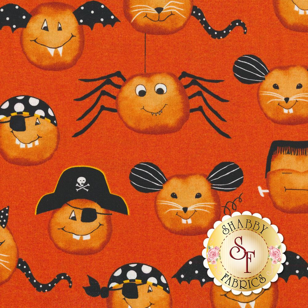 Cheekyville 4669-33 Orange by Studio E Fabrics