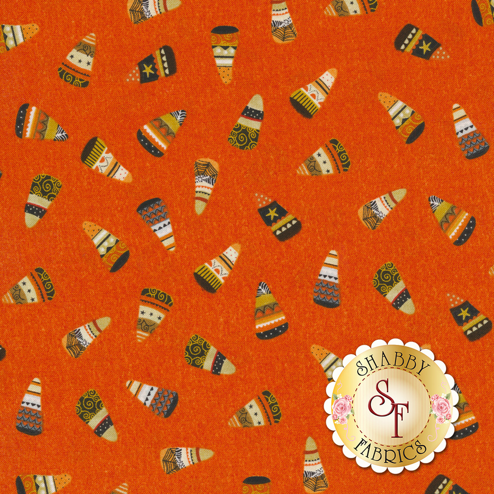 Cheekyville 4671-33 Orange by Studio E Fabrics