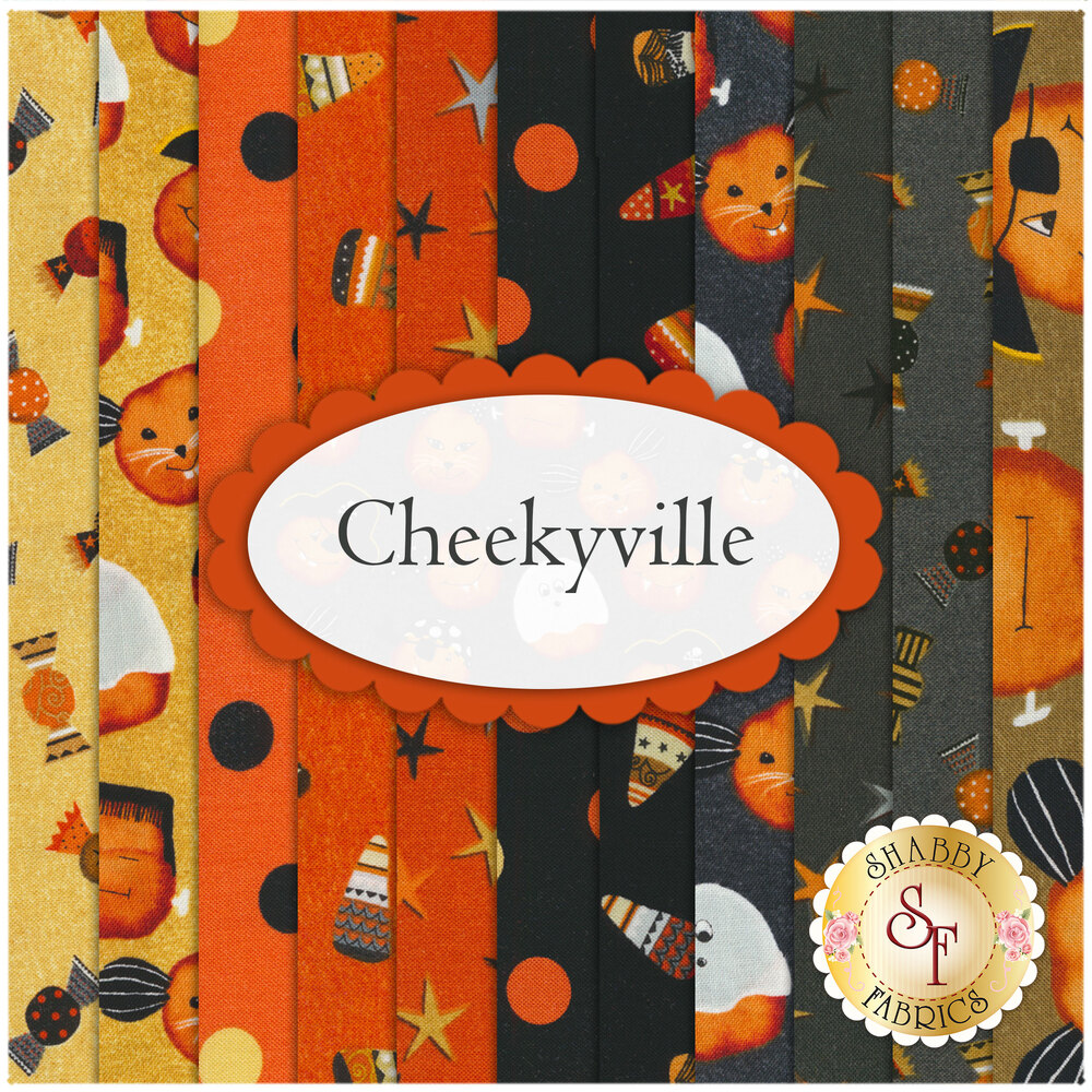 Cheekyville 11 FQ Set by Studio E Fabrics