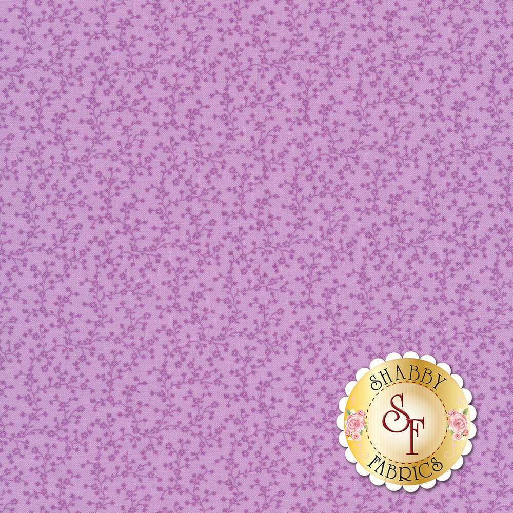 Tiny dots scattered all over purple | Shabby Fabrics