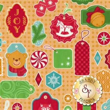 Christmas Cheer 62495-6310715 by Patrick Lose Fabrics- REM #1
