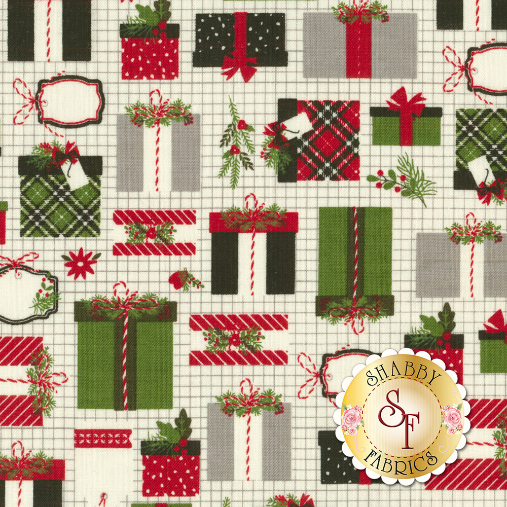 Christmas Delivery C7331-CREAM for Riley Blake Designs