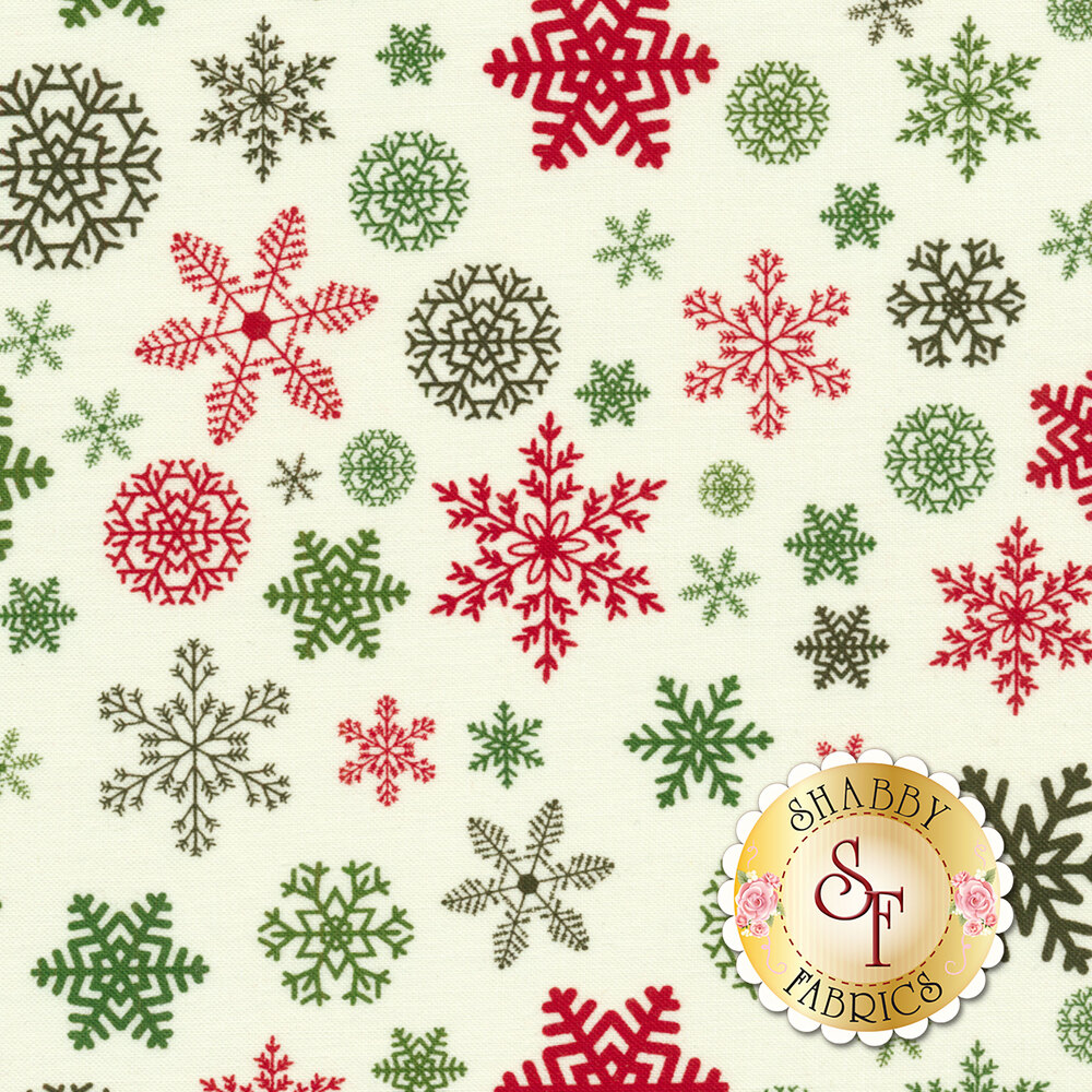 Christmas Delivery C7333-CREAM for Riley Blake Designs