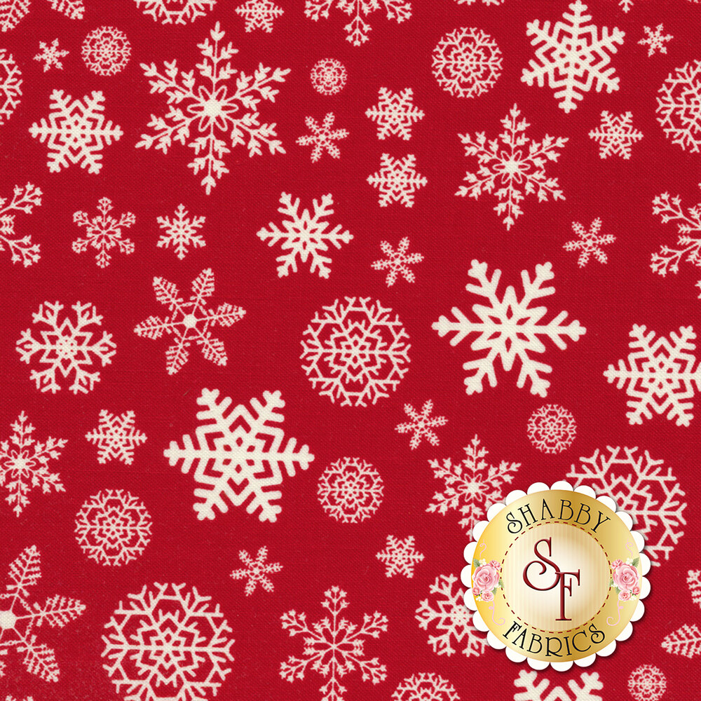 Christmas Delivery C7333-RED for Riley Blake Designs