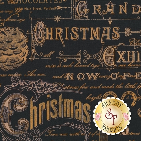 Christmas In The Wildwood 33809-922 by Wilmington Prints