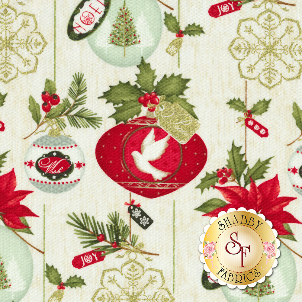 Christmas Village 4250M-44 for Studio E Fabrics
