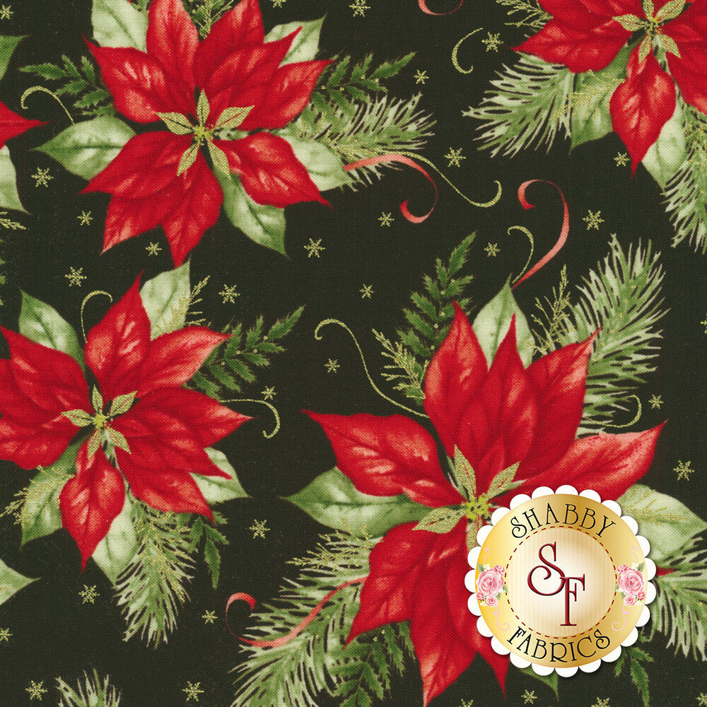 Christmas Village 4251M-99 for Studio E Fabrics