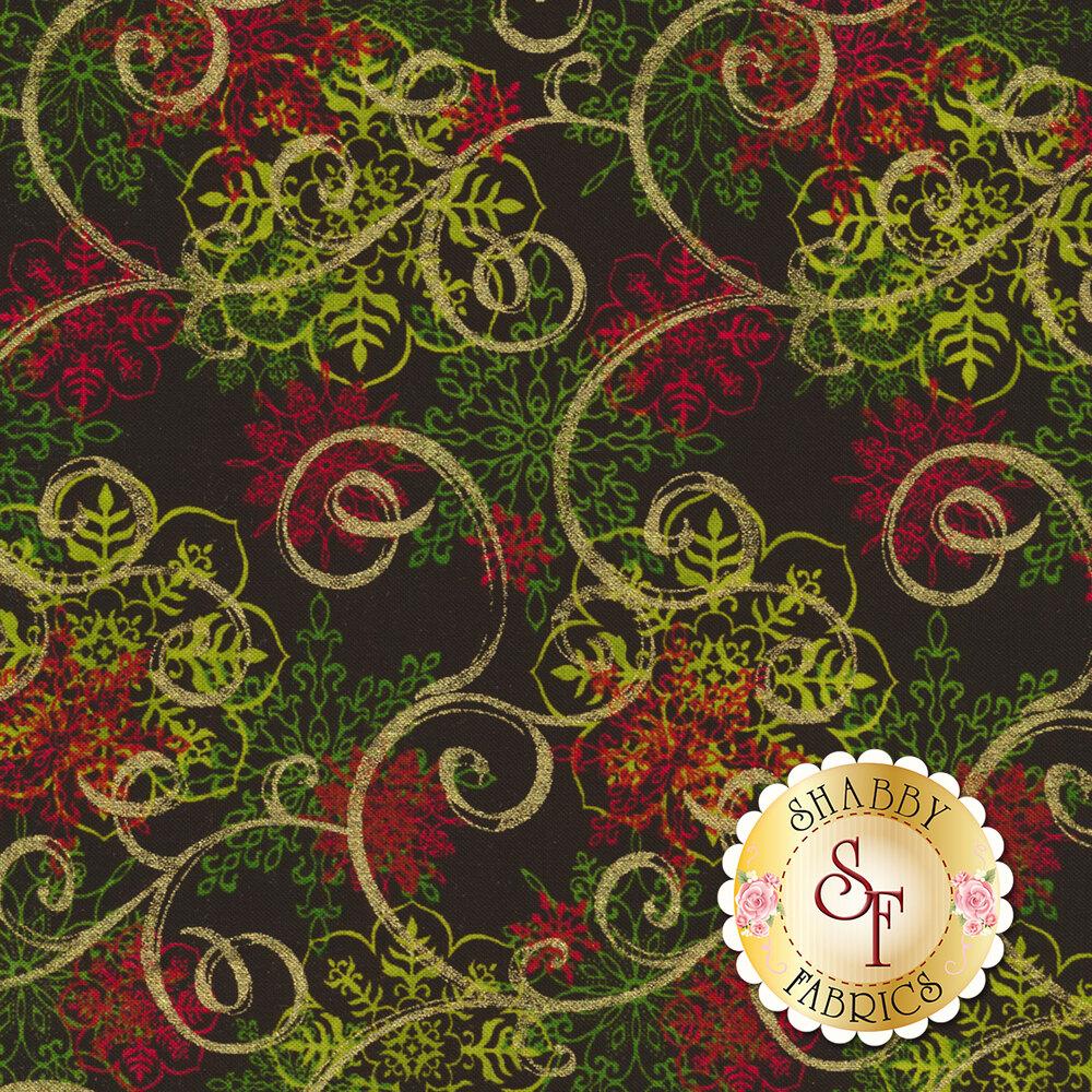 Christmas Village 4252M-99 for Studio E Fabrics