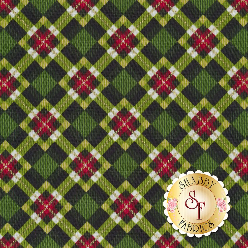 Christmas Village 4254M-66 for Studio E Fabrics