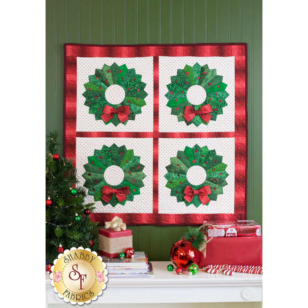 Christmas Wreath Wall Hanging Kit