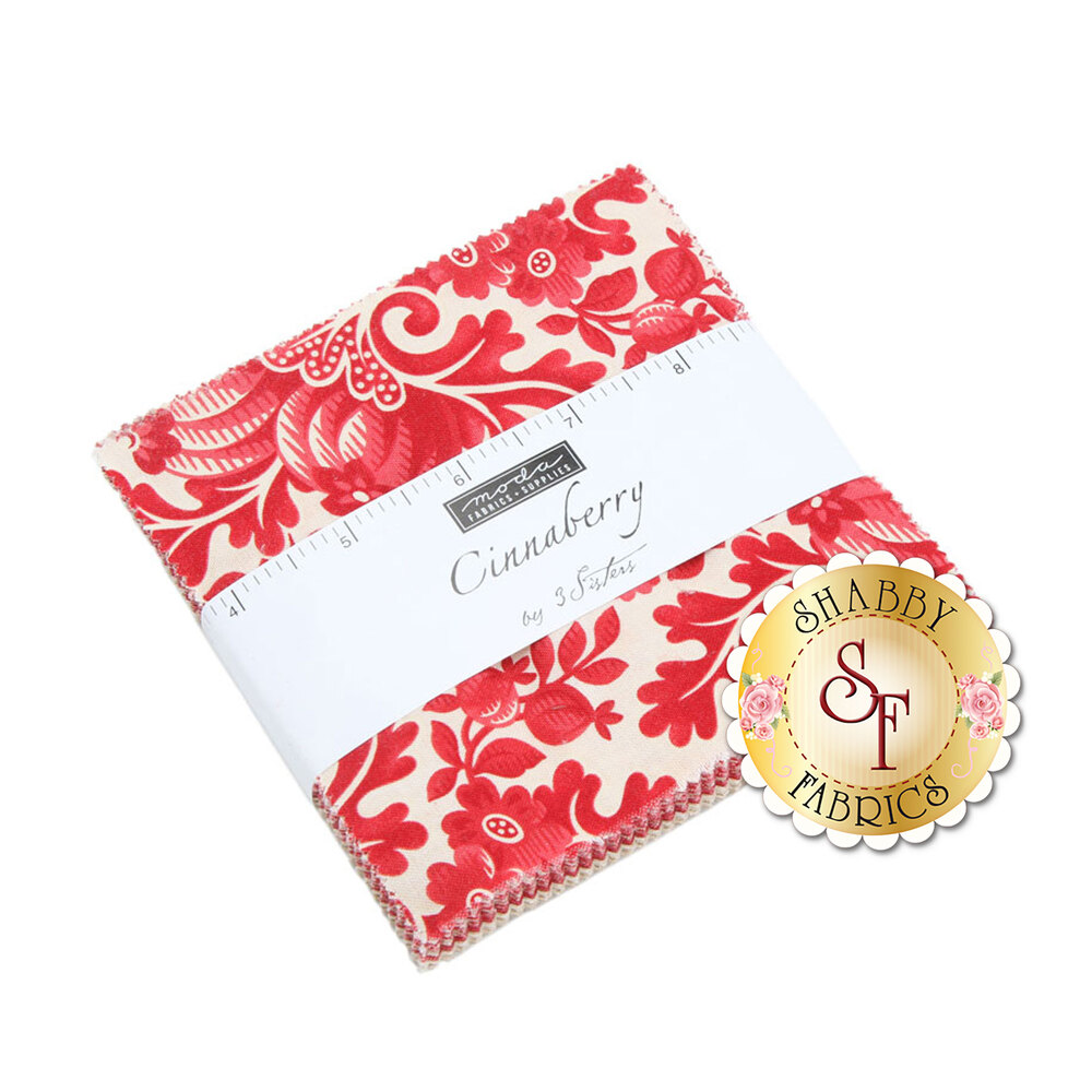 Cinnaberry  Charm Pack by 3 Sisters for Moda Fabrics
