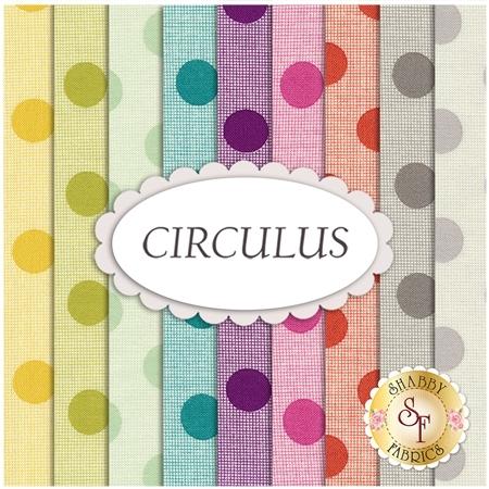 Circulus  9 FQ Set by Moda Fabrics