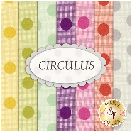 Circulus  7 FQ Set by Moda Fabrics
