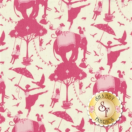 Circus 481320 Circus Life Red by Tone Finnanger for Tilda