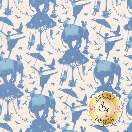 Circus 481321 Circus Life Blue by Tone Finnanger for Tilda