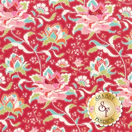 Circus 481328 Circus Rose Red by Tone Finnanger for Tilda