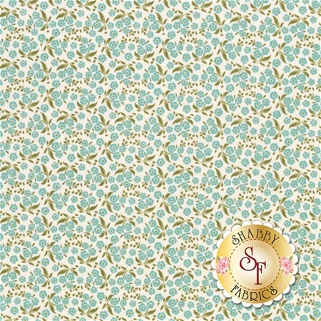 Circus 481337 Forget Me Not Teal by Tone Finnanger for Tilda