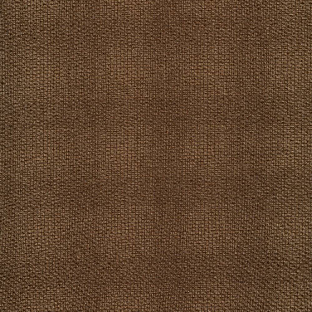 Tonal brown plaid design | Shabby Fabrics