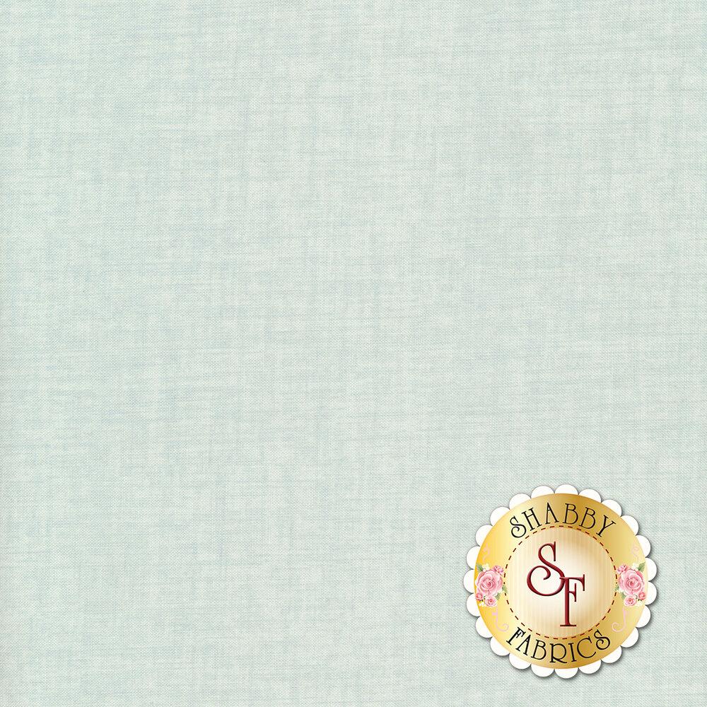 Aqua fabric with woven textures   Shabby Fabrics