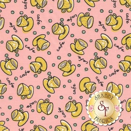 Coffee Break C5721-PINK by Penny Rose Fabrics