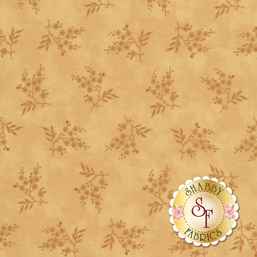 Collection for a Cause - Heritage 46003-23 Floral Sprigs Tan for Moda Fabrics