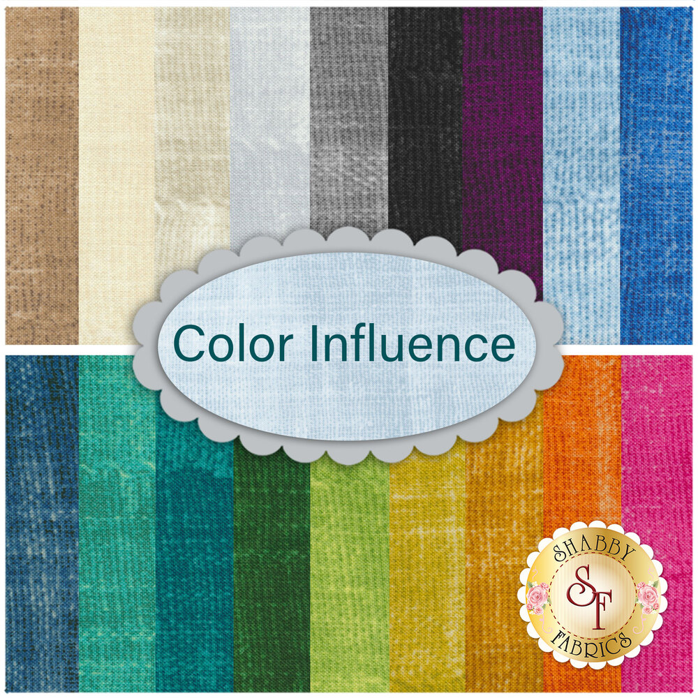 Color Influence  19 Fat Eighth Set by Marcus Fabrics