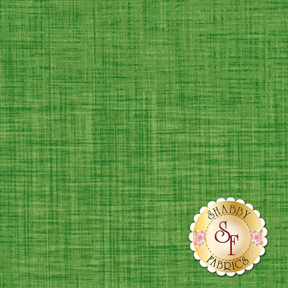 Tonal textured green fabric | Shabby Fabrics