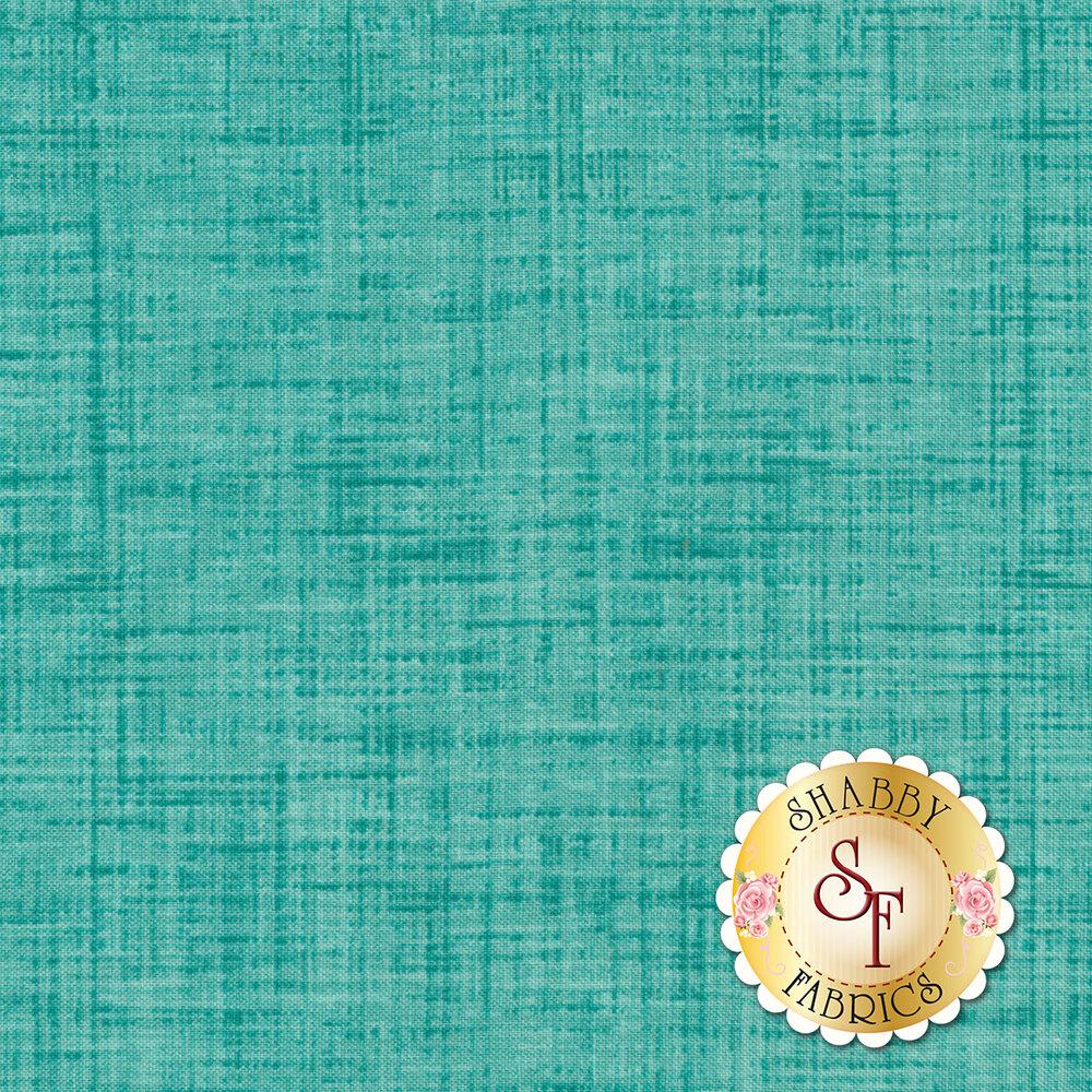Tonal textured aqua fabric | Shabby Fabrics