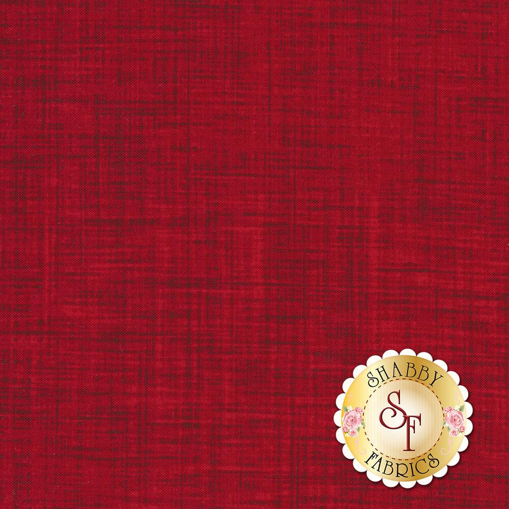 Tonal textured red fabric | Shabby Fabrics