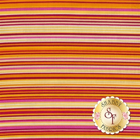 ColorWorks Simply Stripes 21566-24 by Northcott Fabrics
