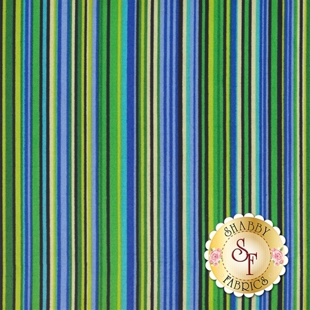 ColorWorks Simply Stripes 21566-44 by Northcott Fabrics