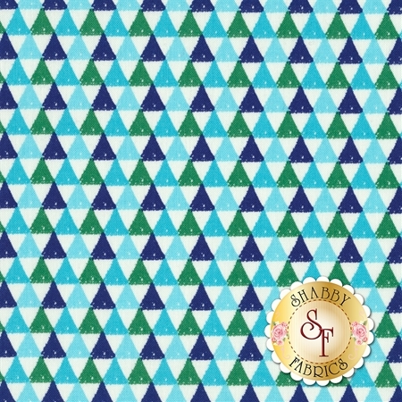 Colorfully Creative C5405-BLUE by Crayola for Riley Blake Designs REM