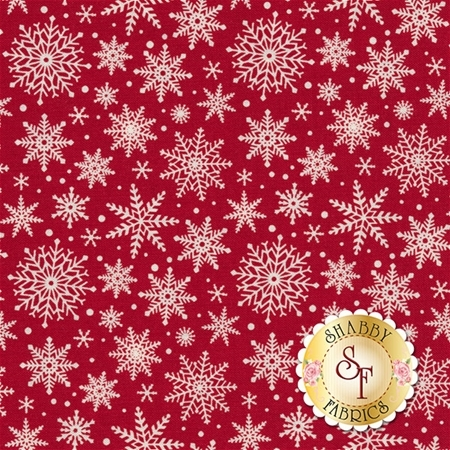 Comfort And Joy C6265-RED by Dani Mogstad for Riley Blake Designs