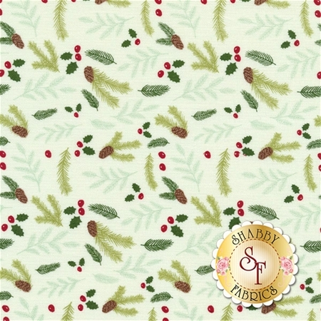 Comfort And Joy C6266-CREAM by Riley Blake Designs