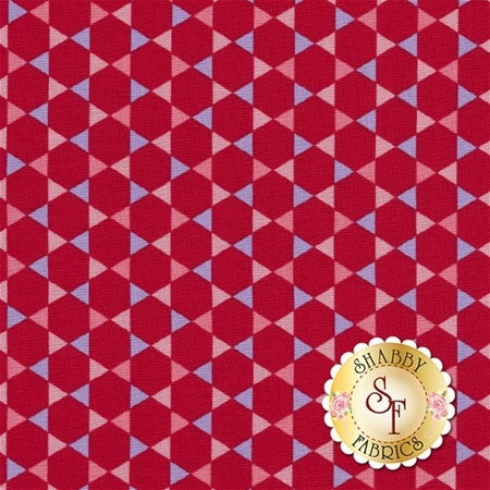 Coming Up Roses C6272-RED by Penny Rose Fabrics