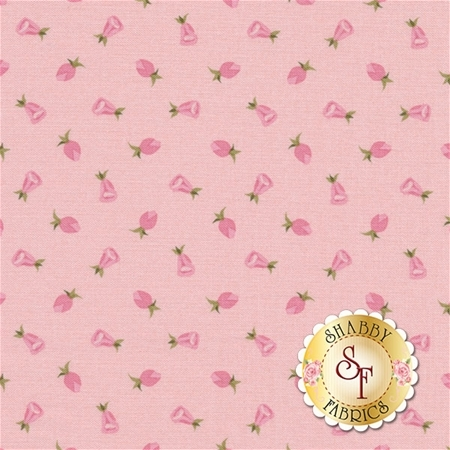 Coming Up Roses C6274-PINK by Jill Finley for Penny Rose Fabrics