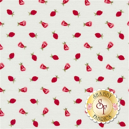 Coming Up Roses C6274-RED by Penny Rose Fabrics