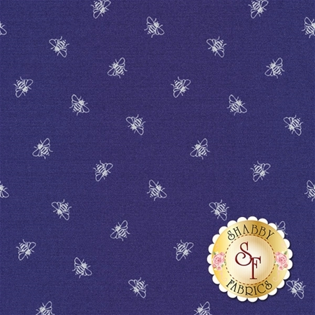 Coming Up Roses C6276-BLUE by Penny Rose Fabrics