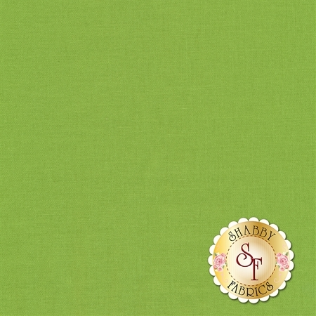 Confetti Cottons Crayola C120-GREENSMOOTHIE by Crayola for Riley Blake Designs