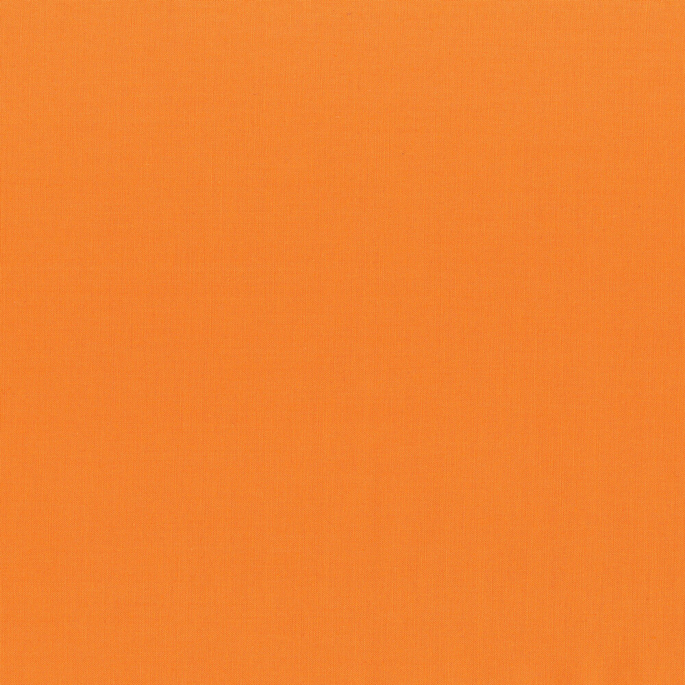 Solid orange fabric | Shabby Fabrics