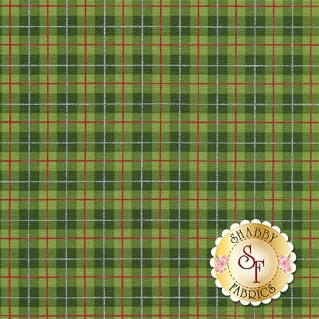 Cozy Cabin 26601-GRE1 by Red Rooster Fabrics