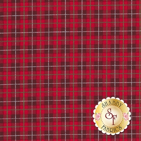 Cozy Cabin 26601-RED1 by Sandy Lynam Clough for Red Rooster Fabrics