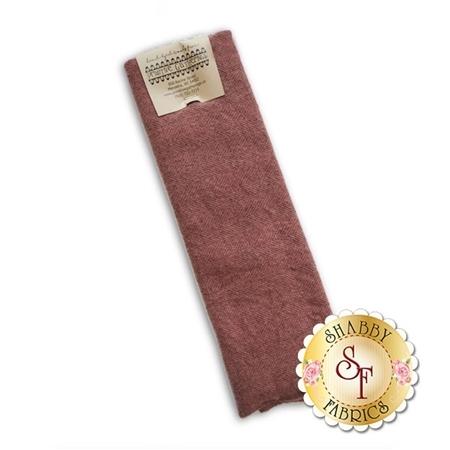 Hand Dyed Wool PRI 5065 Crimson Clover Herringbone by Primitive Gatherings for Moda Fabrics