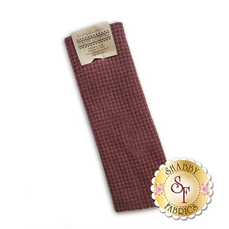 Hand Dyed Wool PRI 5066 Crimson Clover Houndstooth by Primitive Gatherings for Moda Fabrics