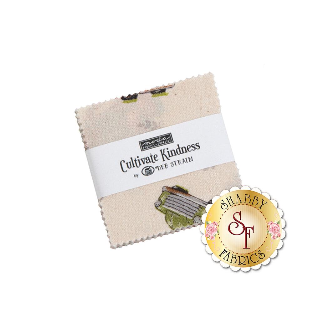Cultivate Kindness  Mini Charm Pack by Deb Strain for Moda Fabrics